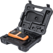 BROTHER Címkenyomtató PT-E110, ipari (kézi), 20mm/mp, QWERTY billentyűzet, TZe/HGe szalag 12mm-ig, hordtáskával