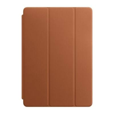 APPLE Leather Smart Cover for iPad 7, iPad Air 3, 10.5-inch iPad Pro - Saddle Brown