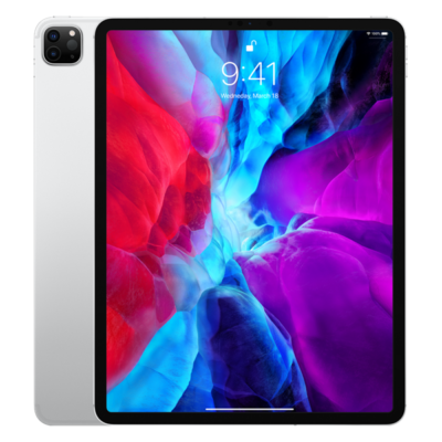 "Apple 12.9"" iPad Pro Cellular 128GB - Silver (2020)"
