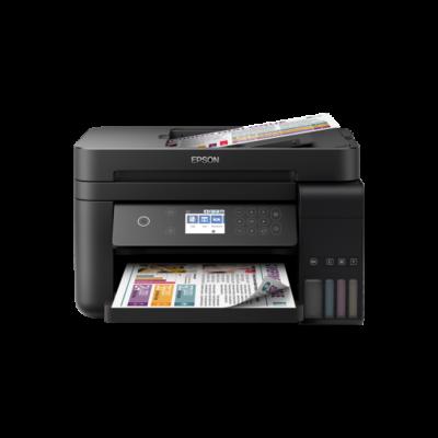 EPSON Tintasugaras nyomtató - EcoTank L6170 (A4,MFP,színes,4800x1200 DPI,33lap/perc,duplex,ADF,USB/LAN/Wifi/Wifi Direct)
