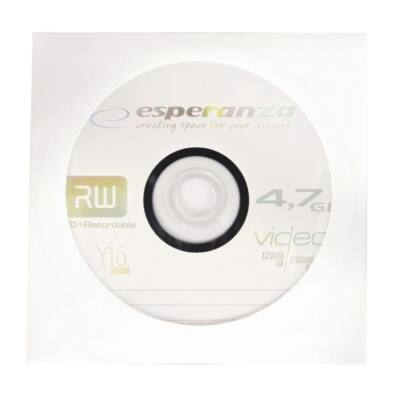 ESPERANZA  DVD lemez -R 4.7GB 16x Papír tok