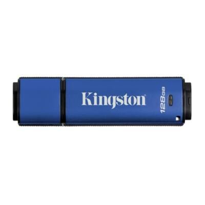 KINGSTON Pendrive 128GB, DT Vault Privacy USB 3.0, 256bit AES FIPS 197