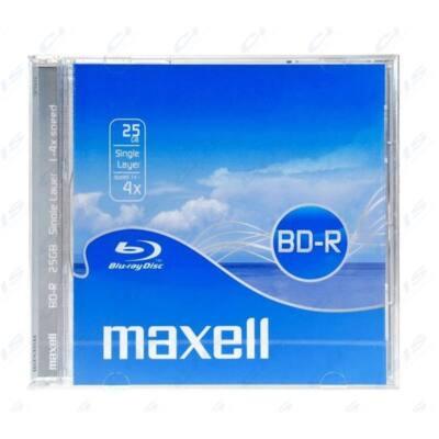 MAXELL Blu-Ray lemez BD-R 25GB 4x Normál tok, 5-ös csomag