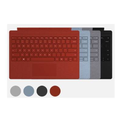 Microsoft Surface Pro Type Cover /Poppy Red UK/Ireland + HUN